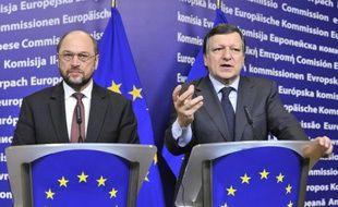 Pour la première fois cette année, la Commission européenne dispose d'un droit de regard sur les budgets des pays de la zone euro, et peut exiger des changements s'ils ne sont pas conformes aux objectifs de déficit ou aux recommandations économiques adressées aux Etats au printemps.