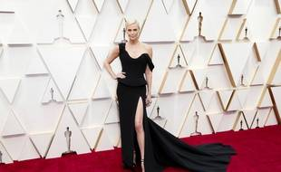 L'actrice Charlize Theron aux Oscars 2020
