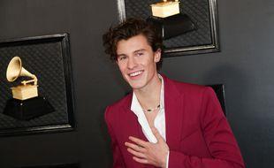Le chanteur Shawn Mendes