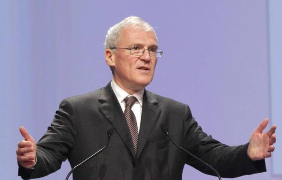 Jean-Bernard Lévy, président du directoire du groupe diversifié Vivendi (médias, télécoms, jeux video) quitte le groupe, soumis à de fortes turbulences, selon une information publiée sur le site du Figaro.fr. – Pierre Verdy afp.com