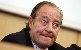 Le président du Racing Club de Lens, Gervais Martel.