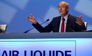 Le PDG d'Air Liquide, Benoit Potier, en mai 2013.