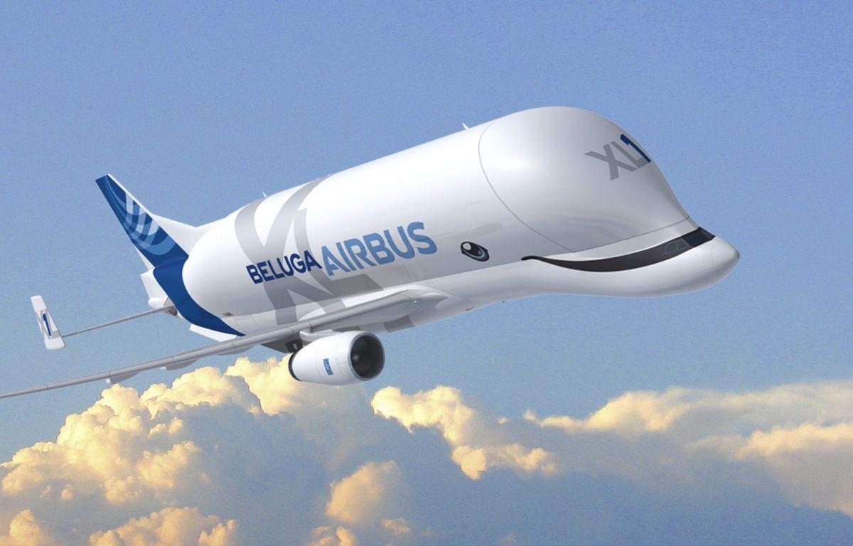 Le futur Beluga XL, qui sera mis en service en 2019. – Airbus Group