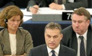 Viktor Orban, hier à Strasbourg.