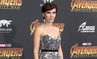 L'actrice Scarlett Johansson