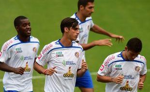 Le joueur du Costa Rica Bryan Ruiz, le 21 juin 2014, au stade Vila Belmiro de Santos.