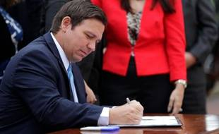 Ron DeSantis est le gouverneur républicain de la Floride.