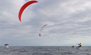 Illustration du kitesurf