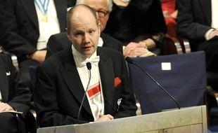 Peter Englund, secrétaire permanent de l'Académie du Prix Nobel