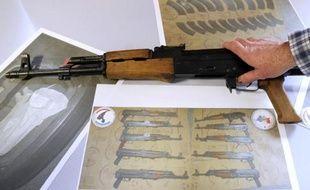 Une importante saisie d'armes et de stupéfiants sur la commune de Cabriès (Bouches-du-Rhône).
