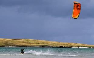 Photo d'illustration d'un kite surfeur