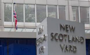 Le siège de Scotland Yard à Londres, le 4 septembre 2014