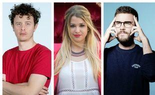 Norman, EnjoyPhoenix et Cyprien, trois célèbres youtubeurs français.