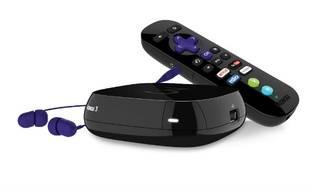 Le Roku 3 dispose d'une télécommande gyroscopique avec prise casque.