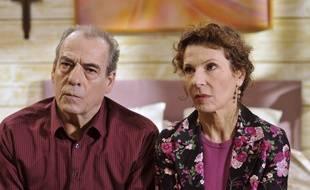 Roland (Michel Cordes) et Mirta et (Sylvie Flepp), deux héros de «Plus belle la vie».
