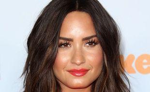 La chanteuse Demi Lovato à Los Angeles.