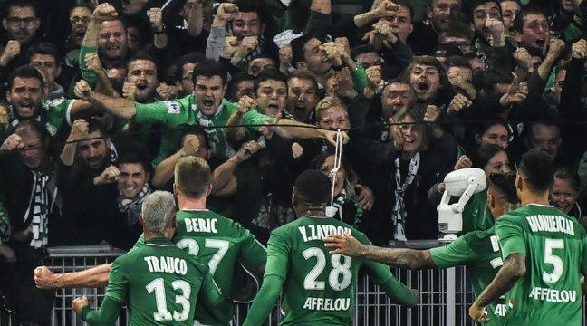 ASSE-OL  Robert Beric met fin à la malédiction des Verts dans le Chaudron et enfonce le Lyon de Sylvinho