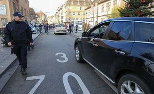 Strasbourg: Voiture, tram, vélo, piéton... Comment circuler au marché de Noël malgré son dispositif de sécurité (Archives)