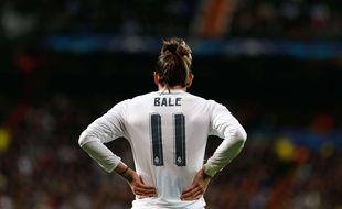 Gareth Bale a fait son retour avec le Real face à l'AS Rome en 8e de finale retour de Ligue des champions, le 8 mars 2016.
