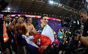 Pierre-Ambroise Bosse a été sacré champion du monde du 800m à Londres le 8 août 2017.
