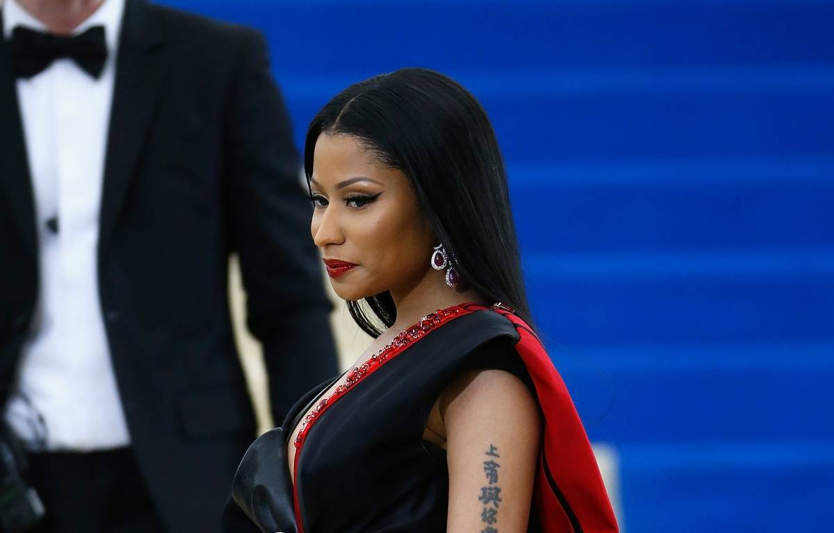 Nicki Minaj lors du gala du MET à New-York le 1er mai 2017.   – John Lamparski/Getty Images/AFP