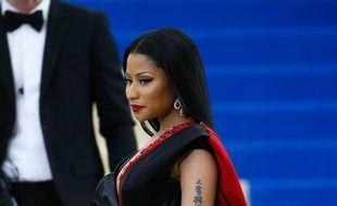Nicki Minaj lors du gala du MET à New-York le 1er mai 2017.