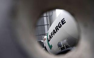 Lafarge, groupe français de matériaux de construction, leader mondial dans son secteur.