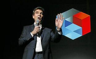 """A la manière du créateur d'Apple, Montebourg a présenté ceux """"qui sont en train d'inventer la France de demain""""."""