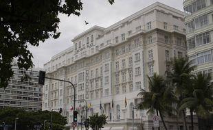 Le Copacabana Palace, hôtel de luxe à Rio de Janeiro (illustration).