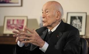 Valery Giscard d'Estaing, ancien président de la République