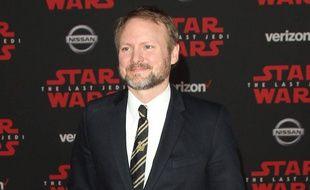 Le réalisateur Rian Johnson à l'avant-première de Star Wars: Les Derniers Jedi