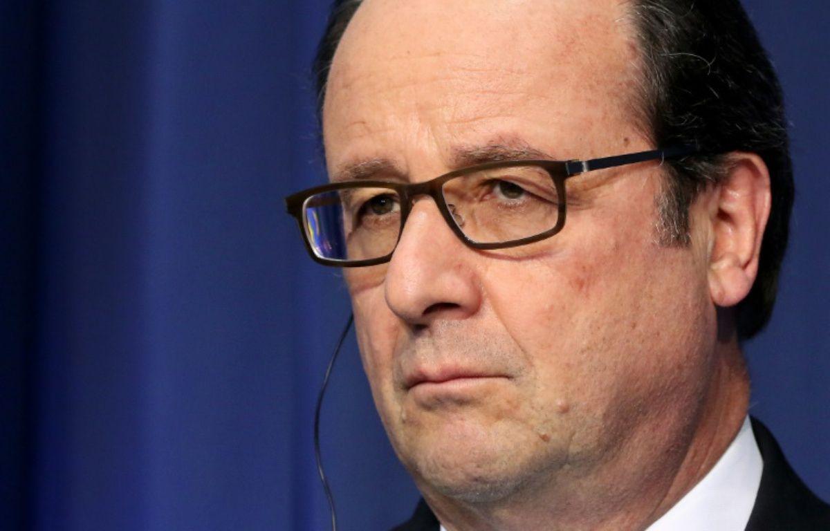 Le président François Hollande lors d'une conférence de presse à Dublin, ler 21 juillet 2016 – PAUL FAITH AFP