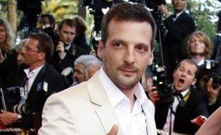 Mathieu Kassovitz à la présentation d'«Indiana Jones et le piège de cristal», le 18 mai 2008 à Cannes.