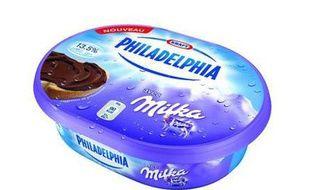 Philadelphia avec Milka sera commercialisé en France à partir du 15 mars 2012.