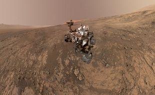 Un selfie du robot Curiosity à la surface de Mars, le 4 février 2018.