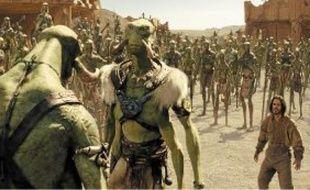 Les aventures de John Carter (Taylor Kitsch) se situent sur Mars.
