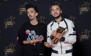 Bigflo & Oli ont été sacrés meilleur duo francophone aux NRJ Music Awards pour la seconde année consécutive.