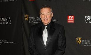 L'acteur Robin Williams aux BAFTAs en 2011
