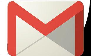 Le service de messagerie Gmail (illustration).