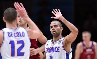 Tony Parker et les Bleus se sont qualifiés pour les demi-finales de leur Euro