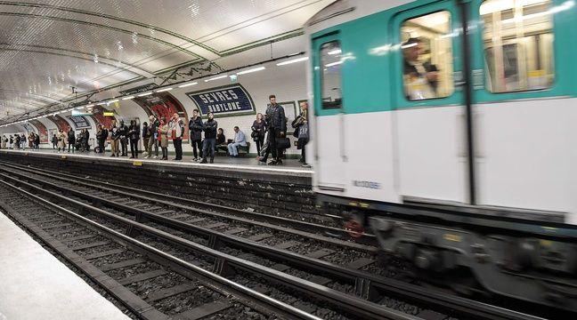 Un homme meurt percuté par un métro alors qu'il chahutait avec des amis