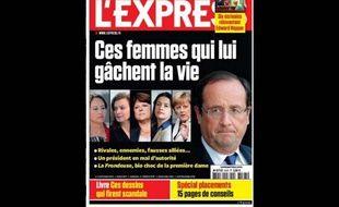 La Une de l'Express du 10 octobre 2012.