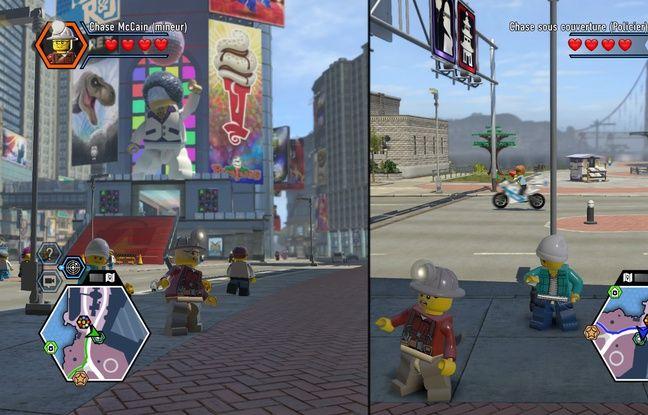 Le jeu à deux simultanément est une des nouveautés de cette nouvelle version et un élément clé des jeux vidéo Lego.