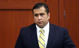 George Zimmerman, accusé du meurtre de Trayvon Martin, à son procès, le 27 juin 2013.