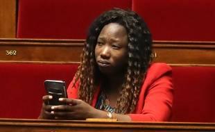 La députée En Marche du Lot, Huguette Tiegna, à l'Assemblée nationale.