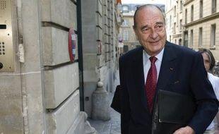 Jacques Chirac en juillet 2008