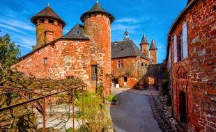 Le village de Collonges-la-Rouge en Corrèze.