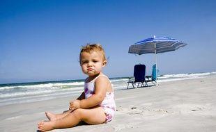 Les bébés supportent mal les fortes chaleurs.