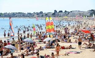 La plage de La Baule fait partie des atouts touristiques de la région Pays de la Loire.