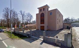 La mosquée de Mérignac, près de Bordeaux.